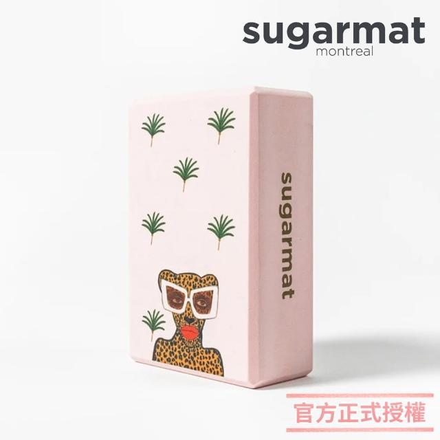 【加拿大Sugarmat】頂級瑜珈磚(時髦美洲豹Kiss & Make Up)