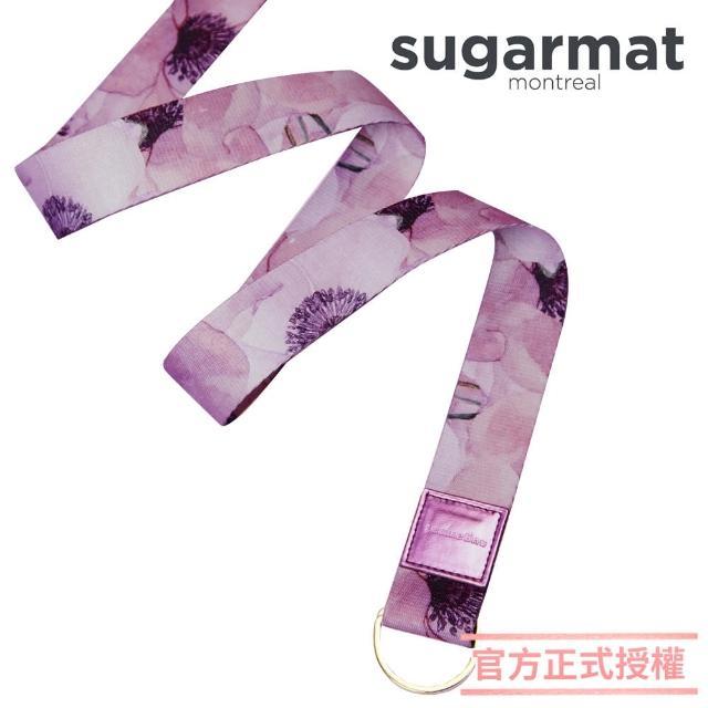 【加拿大Sugarmat】頂級瑜珈伸展帶(薰染紫Stretching Stra)
