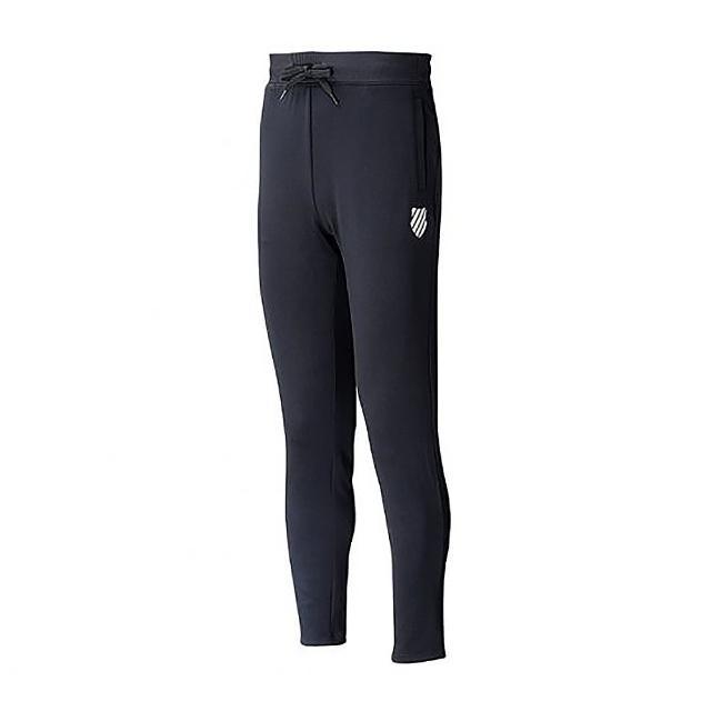 【K-SWISS】運動長褲 5 Stripe Straight Pants 男款 黑(105229008)