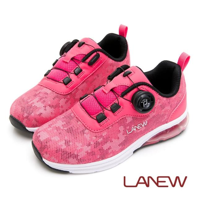 【La new】優纖淨 旋鈕快扣氮氣慢跑鞋 童鞋(童50266935)
