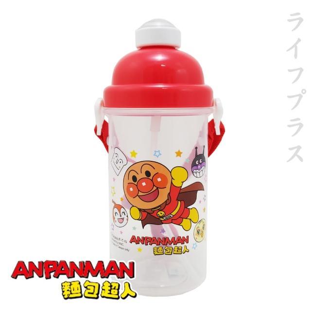 【ANPANMAN 麵包超人】PP彈跳水壺-500ml(買一送一)