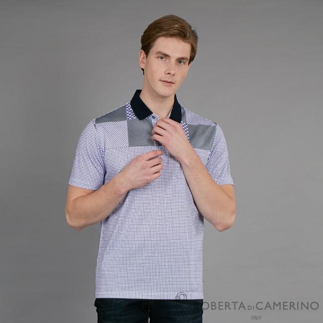 【ROBERTA 諾貝達】台灣製 舒適涼爽 魅力造型短袖POLO棉衫(紫色)