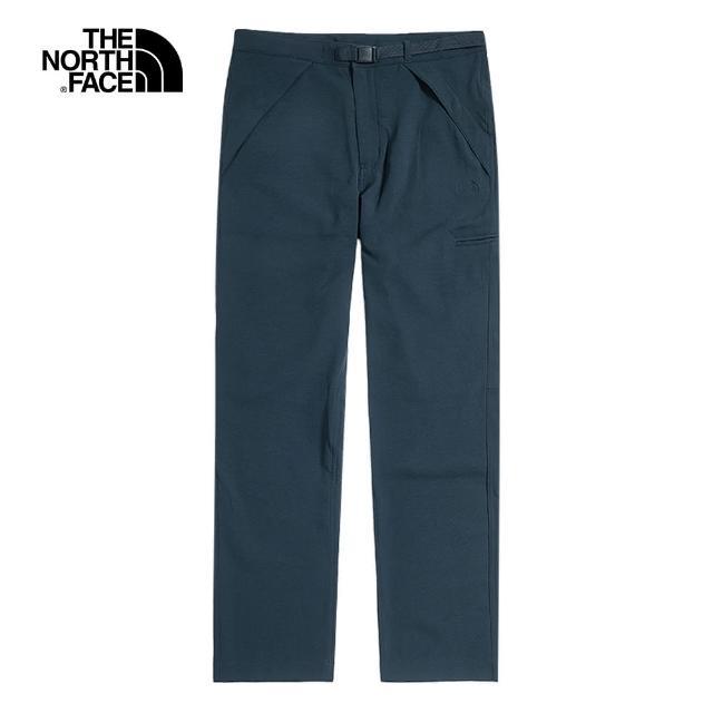 The North Face【The North Face】The North Face北面UE男款深藍色防潑水調節腰帶休閒褲|49CMH2G
