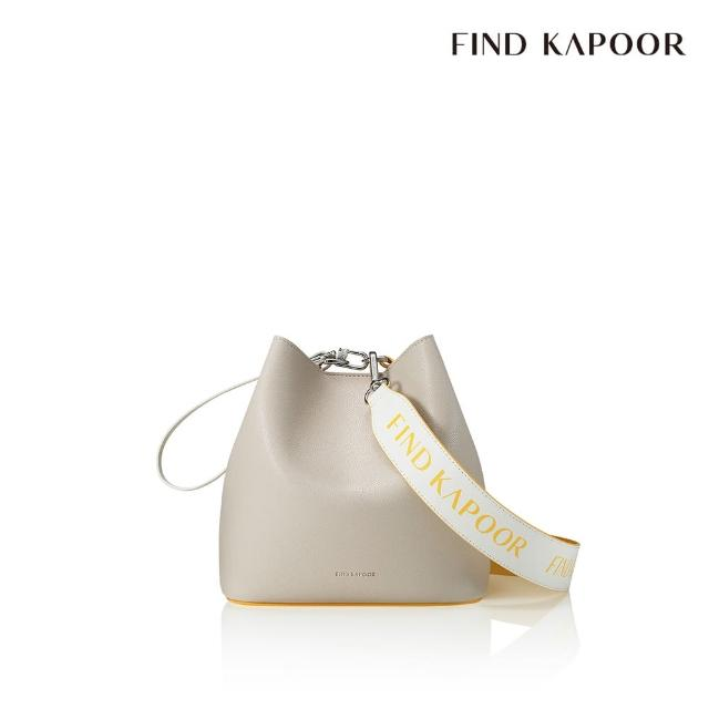 【FIND KAPOOR】PINGO 20 BASIC 字母系列 手提斜背水桶包- 黃色拼接