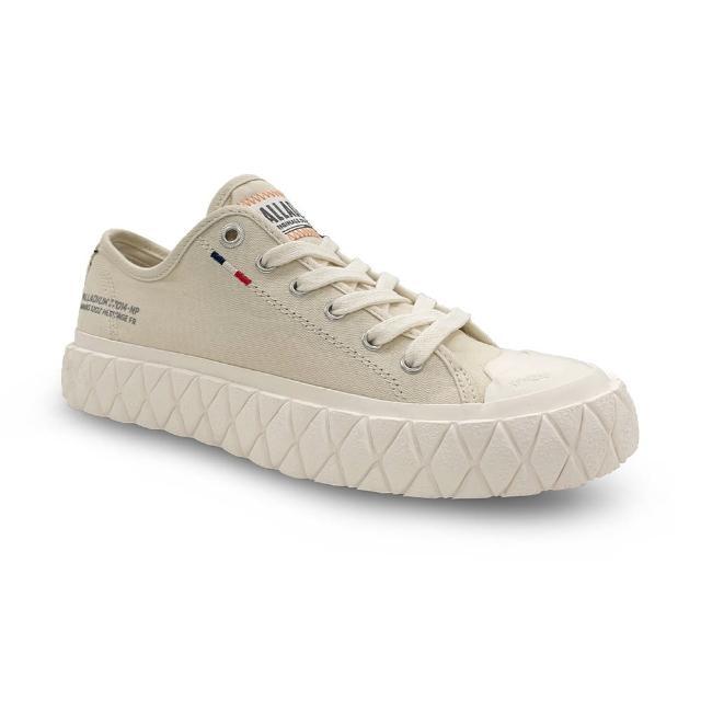 【Palladium】PALLA ACE CVS 男女款 米色 黃膠底 餅乾鞋(77014217)