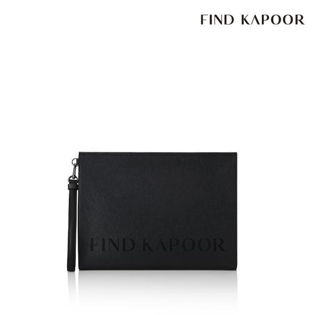 【FIND KAPOOR】CLUTCH 32 字母系列手拿包 - 黑色