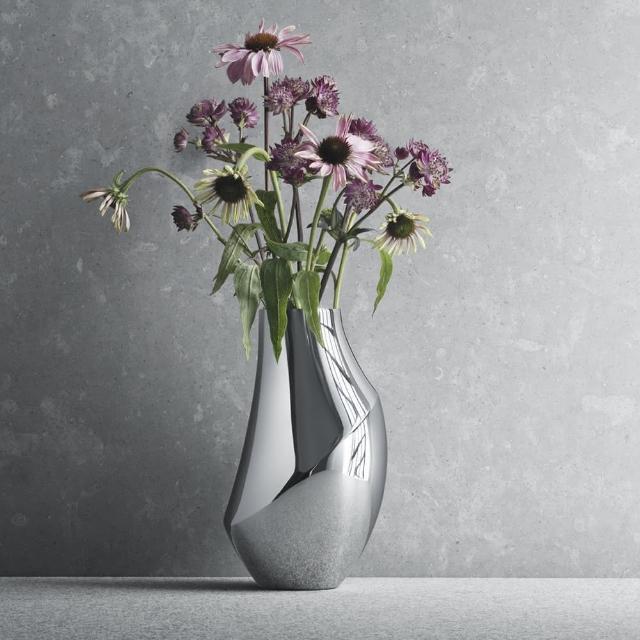 【Georg Jensen 喬治傑生】FLORA 花瓶 中(3586104)