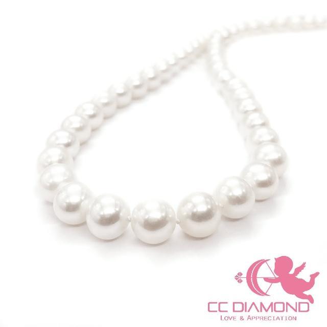 【CC Diamond】精品天然珍珠項鏈(品質很好)