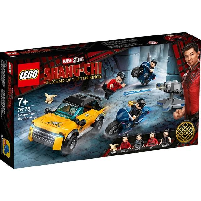 【LEGO 樂高】《 LT 76176 》SUPER HEROES 超級英雄系列 - Escape from The Ten Rings(76176)