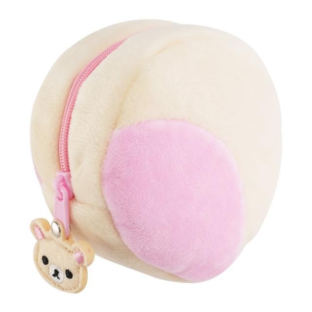 【TDL】拉拉熊懶懶熊懶妹耳朵造型零錢包 624336