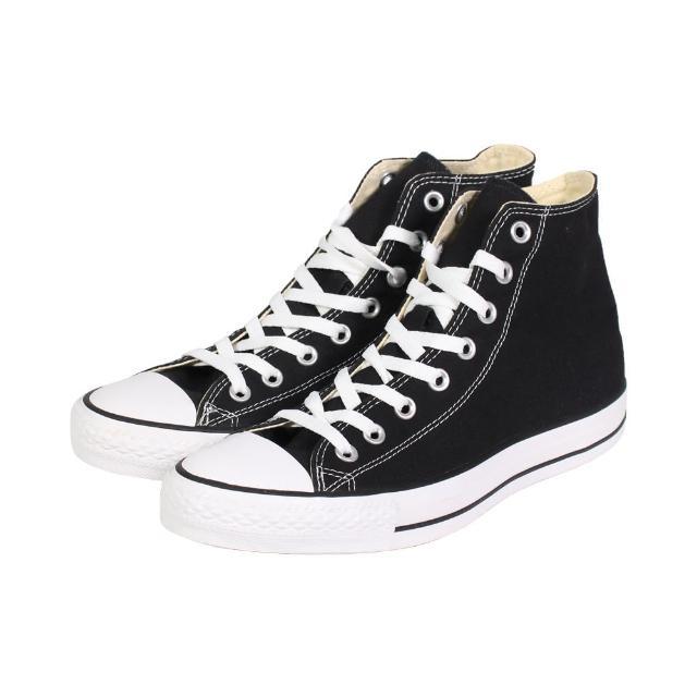 【CONVERSE】帆布鞋 高統 基本款 高筒黑帆布 男女 - M9160C