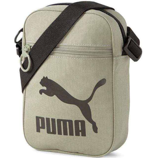 PUMA【PUMA】側背包 斜背包 運動包 小包 綠 07800803