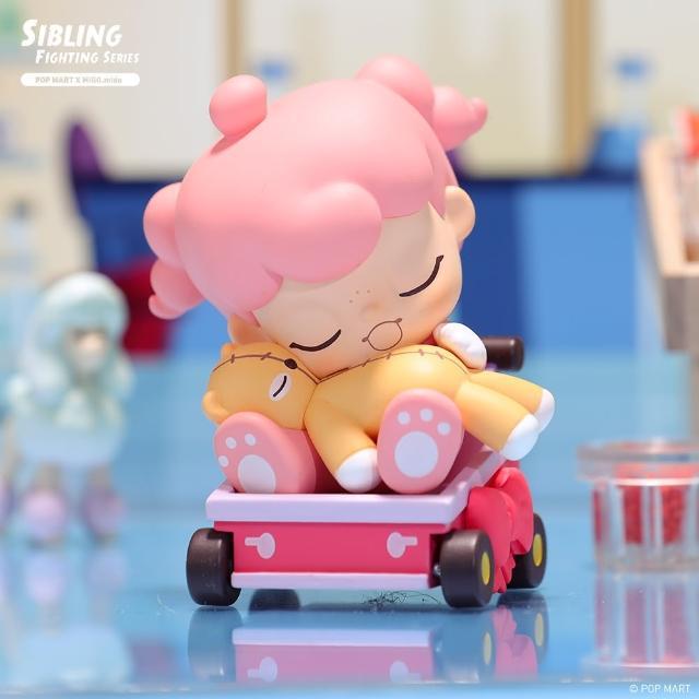 【POPMART 泡泡瑪特】MIGO兄妹大作戰系列公仔盒玩(兩入隨機款)