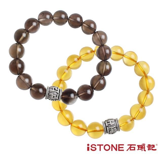 【石頭記】品牌經典-六字真言手鍊(水晶兩材質選)