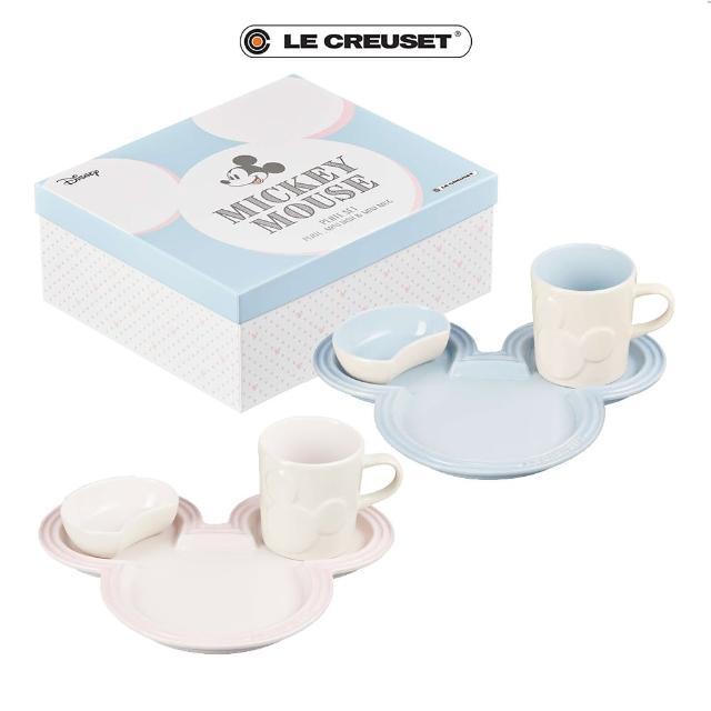 【Le Creuset】餐桌用具套組(迪士尼米奇系列二色)