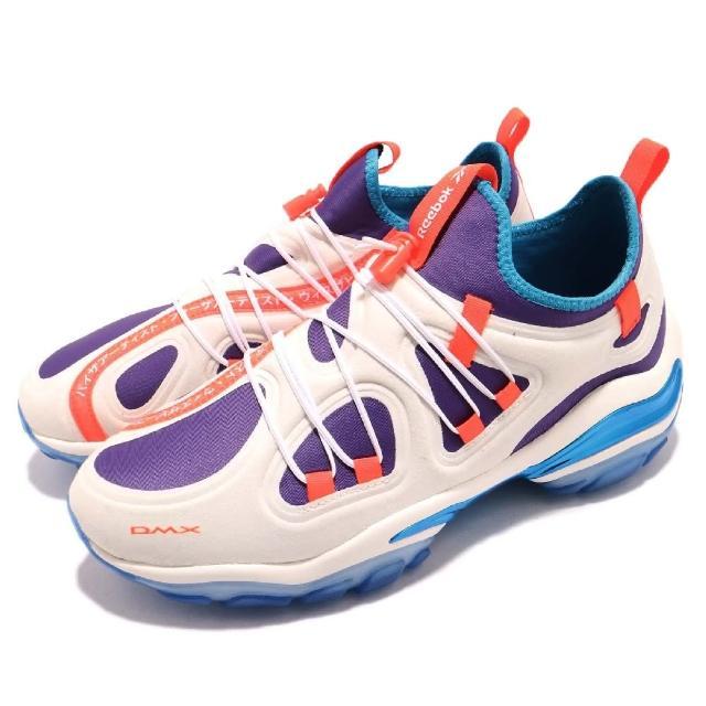 【REEBOK】休閒鞋 DMX Series 2000 運動 男鞋 襪套 舒適 穿搭 鋼彈配色 潮流 球鞋 橘 米白(CN3813)
