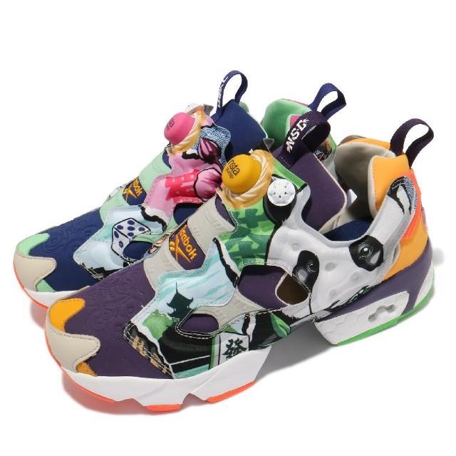 【REEBOK】休閒鞋 Instapump Fury OG 男女鞋 海外限定 避震 充氣科技 情侶穿搭 襪套 彩 黑(FY5993)