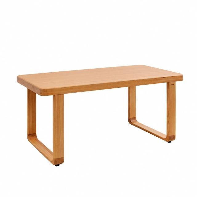 【有情門】STRAUSS 好幸福實木餐桌 W150(製作期為10-15個工作天/實木/MIT/工作桌/書桌)
