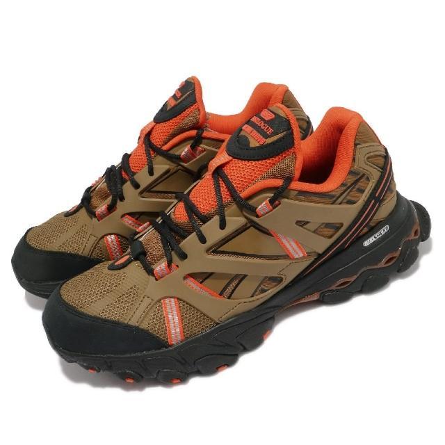 【REEBOK】慢跑鞋 DMX Trail Shadow 男鞋 海外限定 舒適 避震 戶外 運動 棕 黑(FW3332)