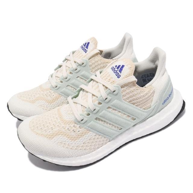 【adidas 愛迪達】慢跑鞋 Ultraboost 6.0 DNA 女鞋 愛迪達 輕量 透氣 舒適 避震 路跑 白 綠(FZ0247)