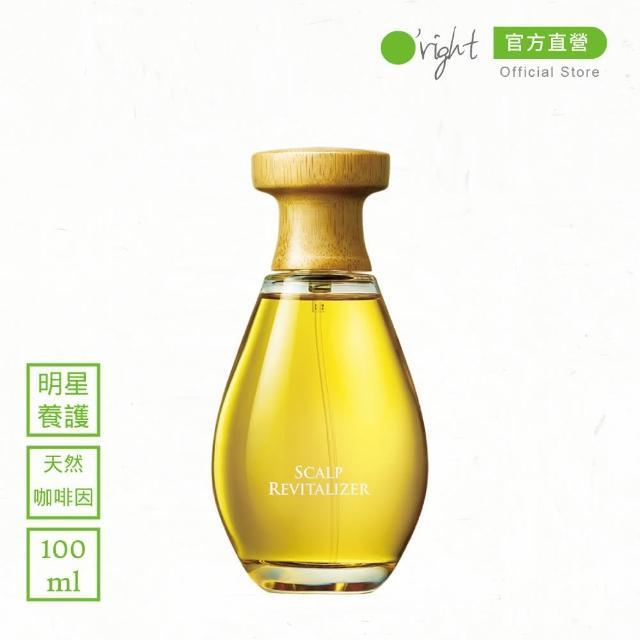 【O right 歐萊德】咖啡因養髮液100ml(天然咖啡因萃取)