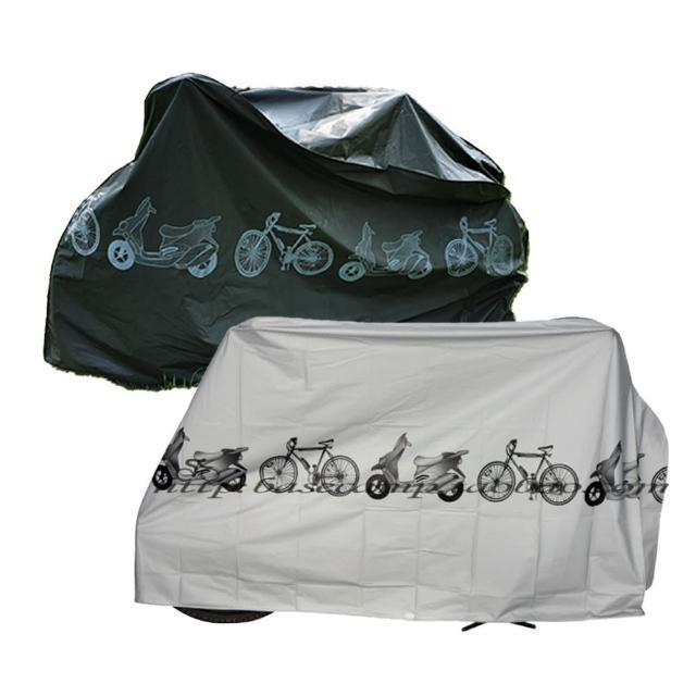 【J 精選】簡約時尚機車/自行車防塵罩/防雨罩(鐵灰色)