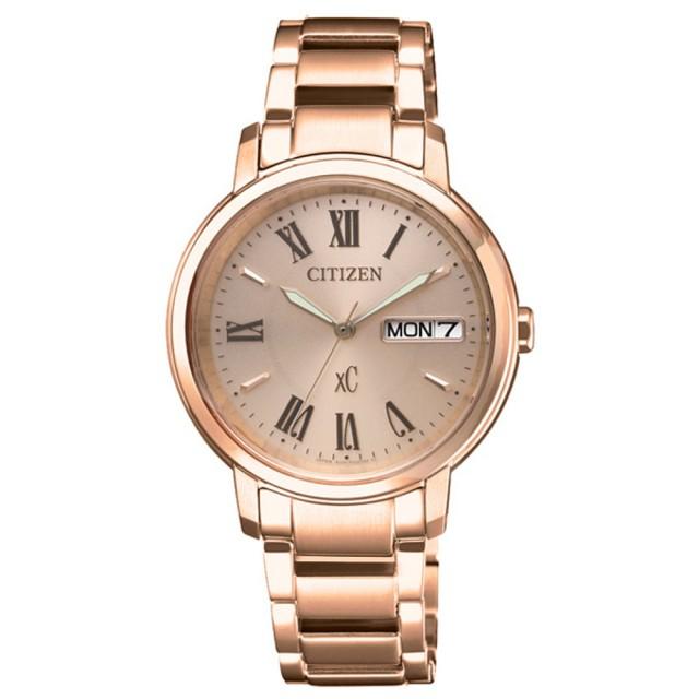 【CITIZEN 星辰】xC 美麗羅馬行時尚腕錶(EW2422-55X)