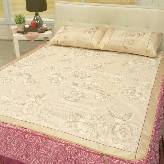 清涼透氣冰絲涼席 涼墊 床墊(加大冰絲蓆)