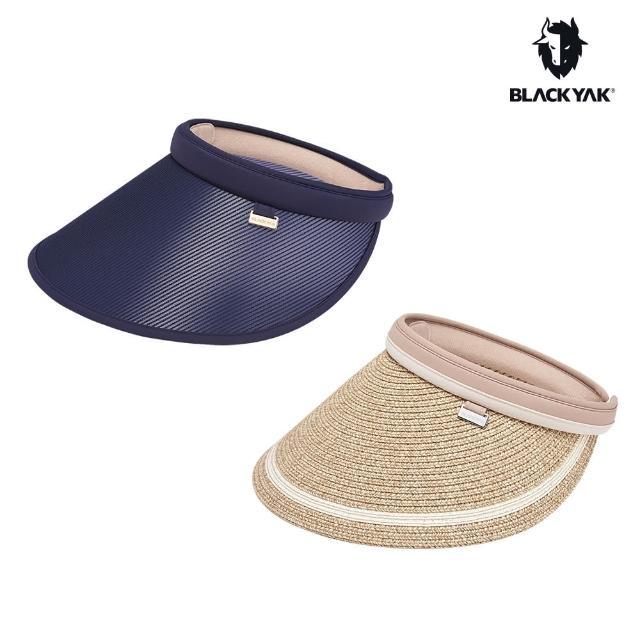 【BLACK YAK】女遮陽中空帽[淺卡其/海軍藍]BYAB1WAG01(韓國春夏 遮陽帽 防曬 中空帽)