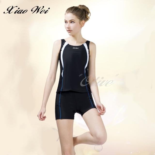 【梅林品牌】流行大女二件式泳裝(NO.M04668)