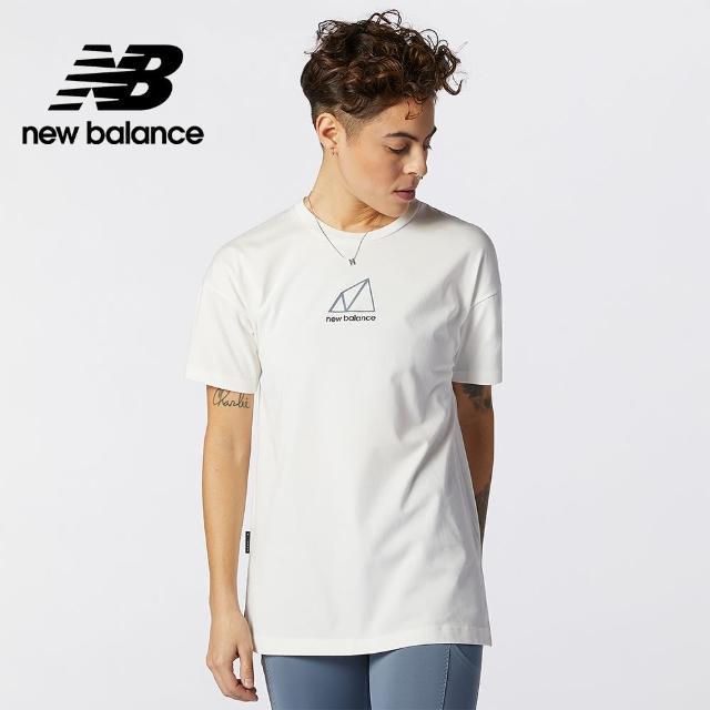【NEW BALANCE】NB 戶外系列短袖T_女款_麻灰色_AWT11593WTH(亞版 版型正常)