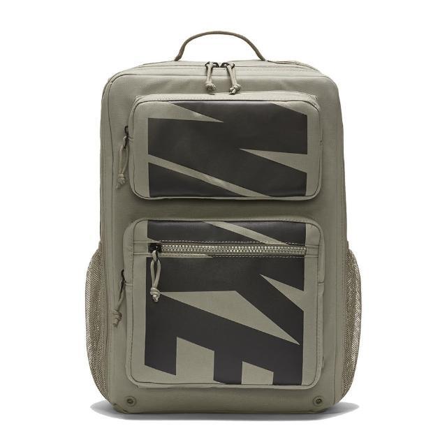 【NIKE 耐吉】後背包 訓練 運動 健身 旅行 NK UTILITY SPEED BKPK-GFX HO21 淺軍綠(CZ1247320)