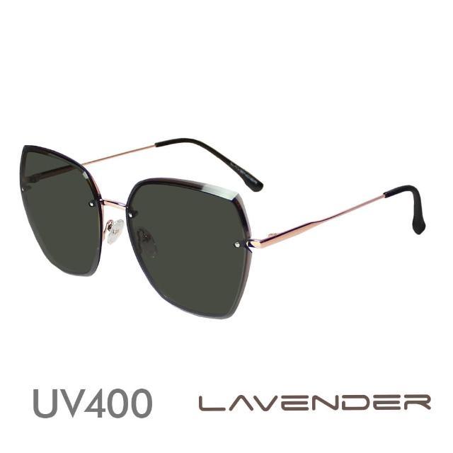 【Lavender】鑽石切割鏡面-墨綠H7149-C1(偏光太陽眼鏡)