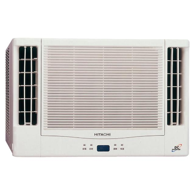 【HITACHI 日立】4-6坪變頻冷暖雙吹式窗型冷氣(RA-40NV1)