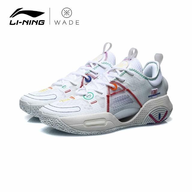 【LI-NING 李寧】ALL CITY 9 韋德全城9 V1.5男子減震回彈籃球專業比賽鞋 標準白(ABAR015-4)