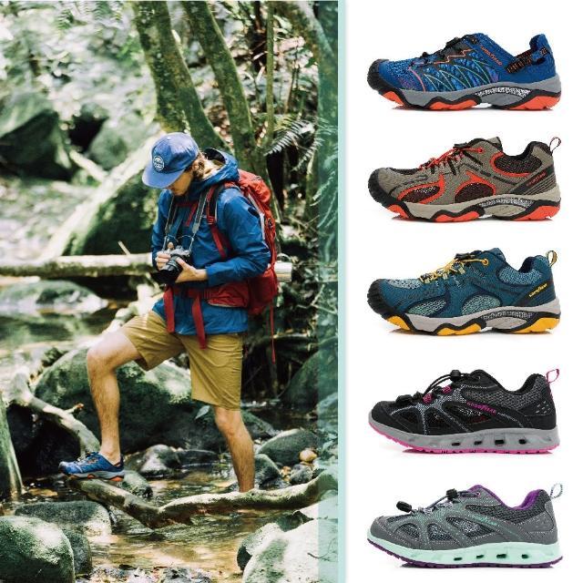 【GOODYEAR 固特異】雨神同行-水陸鞋 機能鞋 男女款 雨季(好評回饋65折)