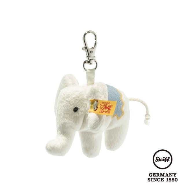 【STEIFF】140紀念 Elephant Keyring 大象(經典吊飾_黃標)