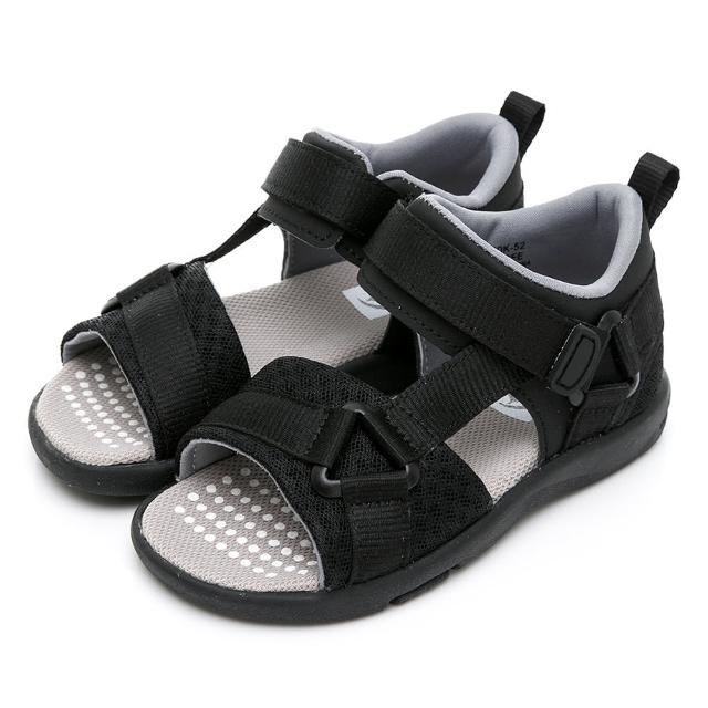 【MOONSTAR 月星】HI!!系列十大機能速乾涼鞋(MSC22816黑15~20CM)