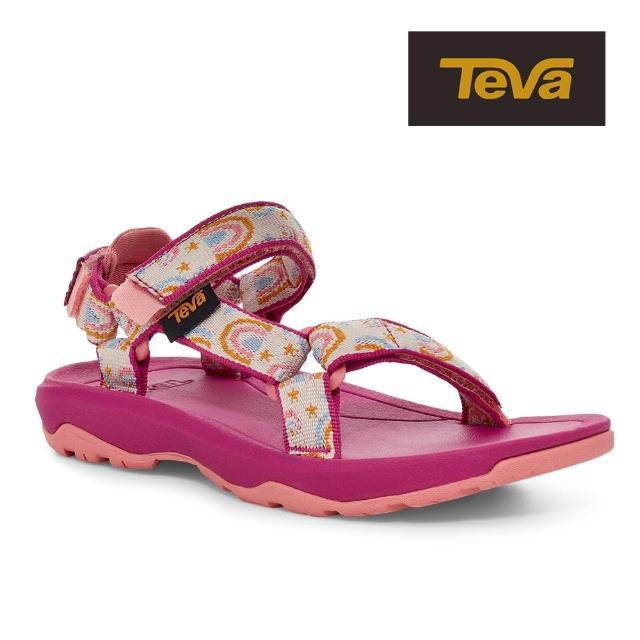 【TEVA】原廠貨 中童 Hurricane XLT2 機能運動涼鞋/雨鞋/水鞋/童鞋(樂園粉-TV1019390CABRCH)