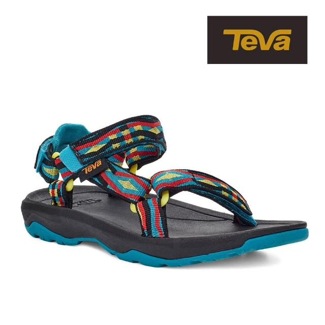 【TEVA】原廠貨 中童 Hurricane XLT2 機能運動涼鞋/雨鞋/水鞋/童鞋(鬥牛彩色-TV1019390CTRML)