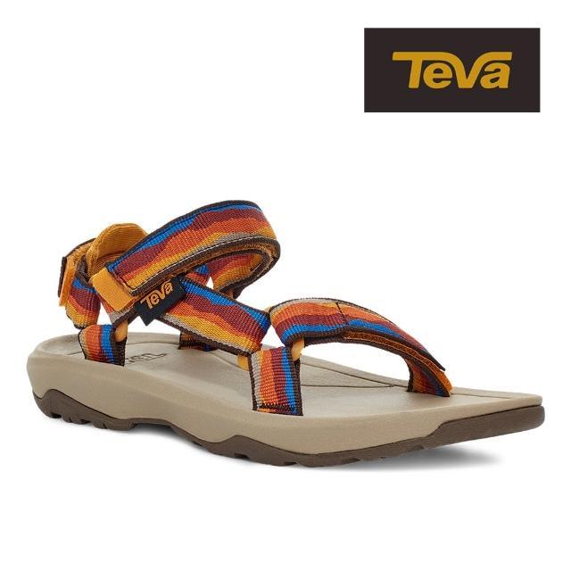 【TEVA】原廠貨 中/大童 Hurricane XLT2 機能運動涼鞋/雨鞋/水鞋/童鞋(野地夕陽色)