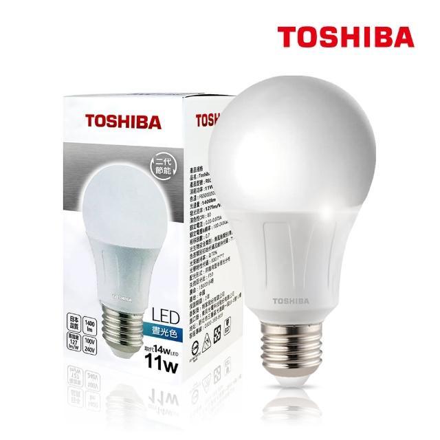 【TOSHIBA 東芝】1W 護眼 高顯色 LED燈泡-三色任選(白光/黃光/自然色-5入)