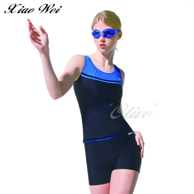 【梅林品牌】流行大女二件式泳裝(NO.M04718)