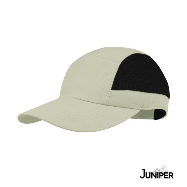 【Juniper 朱尼博】抗UV防曬防潑水透氣戶外休閒運動帽 MJ7208(帽子/鴨舌帽/棒球帽/遮陽帽)