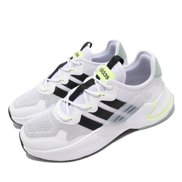 【adidas 愛迪達】慢跑鞋 Roamer 運動 男鞋 愛迪達 輕量 透氣 舒適 避震 路跑 白 黑(FY6049)