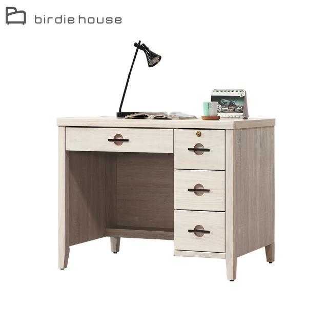 【柏蒂家居】喬伊絲3.5尺四抽書桌/工作桌