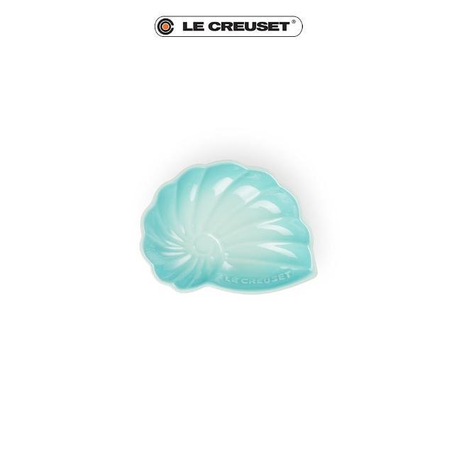 【Le Creuset】瓷器海螺貝殼盤-小(薄荷綠)