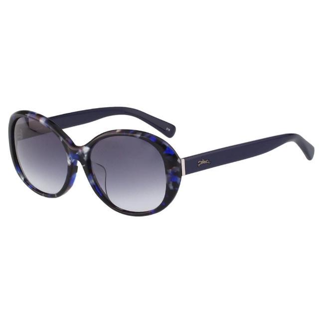 【LONGCHAMP】太陽眼鏡(黑配藍)