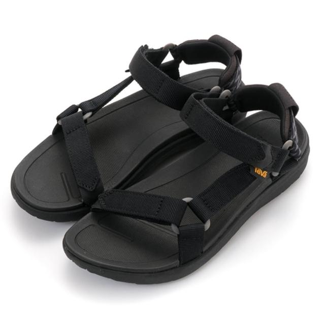 【TEVA】W SANBORN UNIVERSAL 織帶涼鞋 女款 涼鞋 輕量(1015160-BLK)