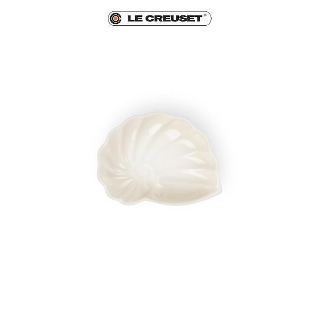 【Le Creuset】瓷器海螺貝殼盤-小(蛋白霜)